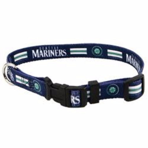 Seattle Mariners Dog Collar - BD Luxe Dogs & Supplies