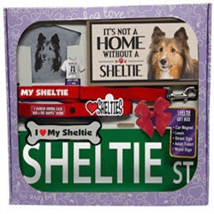 Sheltie Lover Gift Box - BD Luxe Dogs & Supplies