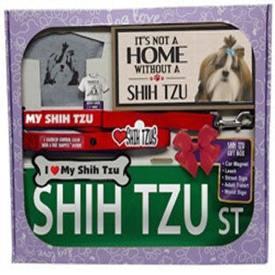 Shih Tzu Lover Gift Box - BD Luxe Dogs & Supplies