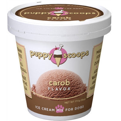 Puppy Scoops Ice Cream Mix - Carob - BD Luxe Dogs & Supplies - 1