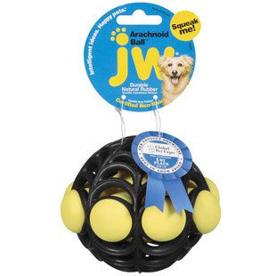 JW PET ARACHNOID BALL SMALL - BD Luxe Dogs & Supplies - 1