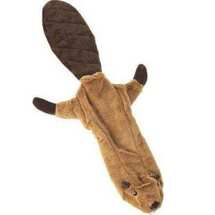 BEAVER SKINNEEEZ NO STUFFING DOG TOY - BD Luxe Dogs & Supplies