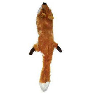 FOX SKINNEEEZ NO STUFFING DOG TOY - BD Luxe Dogs & Supplies - 1