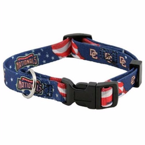 Washington Nationals Dog Collar - BD Luxe Dogs & Supplies