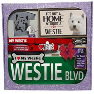 Westie Lover Gift Box - BD Luxe Dogs & Supplies