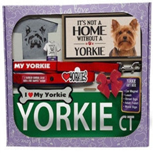 Yorkie Lover Gift Box - BD Luxe Dogs & Supplies