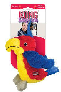 KONG LAYERZ PARROT DOG TOY SIZE SMALL
