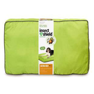 INSECT SHIELD ULTRA DOG BED GREEN MEDIUM 36 INCH - BD Luxe Dogs & Supplies - 1