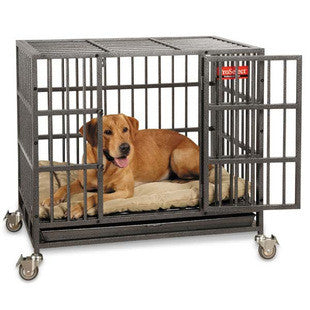 EMPIRE DOG CRATE HEAVY DUTY DOG CAGE WITH DURABLE BED - BD Luxe Dogs & Supplies - 1