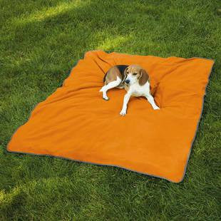 INSECT SHIELD ULTRA BLANKET ORANGE LARGE 74 X 56 INCH - BD Luxe Dogs & Supplies - 1
