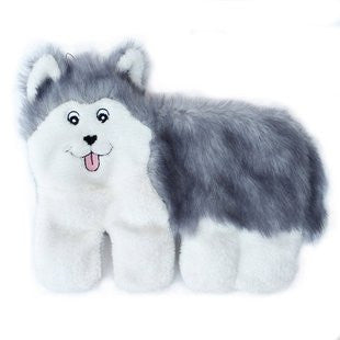 ZIPPY PAWS SQUEAKIE PUP HUSKY 11 SQUEAKER TOY