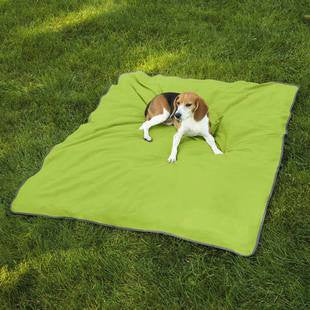 INSECT SHIELD ULTRA BLANKET GREEN LARGE 74 X 56 INCH - BD Luxe Dogs & Supplies - 1
