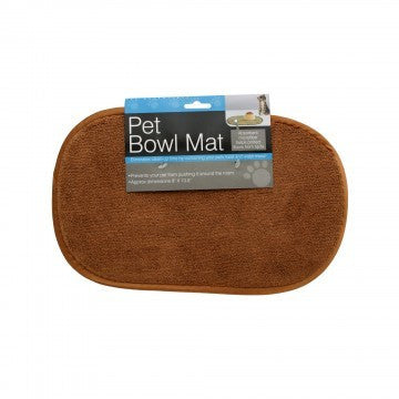 BASIC PET BOWL MICROFIBER PLACEMAT