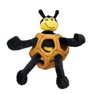 KONG PUZZLEMENTS BEE DOG TOY SIZE SMALL 12 INCH - BD Luxe Dogs & Supplies