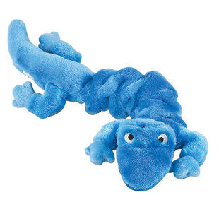 BLUE BUNGEE GECKO DOG TOY - BD Luxe Dogs & Supplies