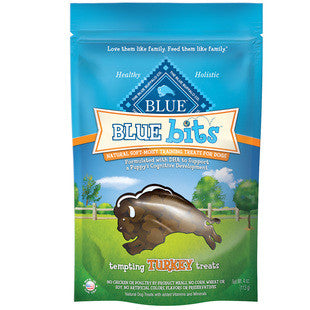 BLUE BUFFALO BLUE BITS TURKEY TRAINING TREATS 4 OZ