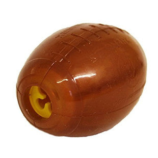 STARMARK LARGE TREAT DISPENSING FOOTBALL DOG TOY - BD Luxe Dogs & Supplies
