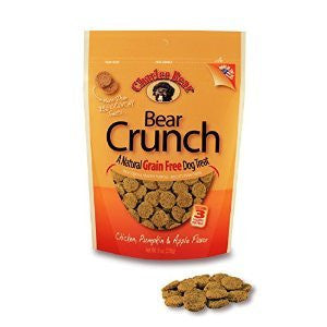 CHARLEE BEAR GRAIN FREE PUMPKIN APPLE DOG TREATS 8OZ