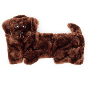 ZIPPY PAWS SQUEAKIE PUP DACHSHUND 11 SQUEAKER TOY
