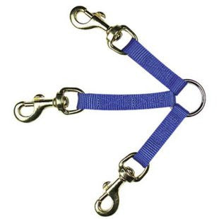 GUARDIAN GEAR BLUE 3 WAY DOG COUPLER 12 INCH - BD Luxe Dogs & Supplies