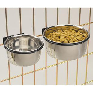 STAINLESS STEEL COOP CUPS - BD Luxe Dogs & Supplies - 1