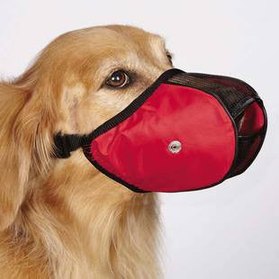 GUARDIAN GEAR SOFT SIDED DOG MUZZLE - LARGE - BD Luxe Dogs & Supplies - 1