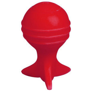 9 INCH RED AIRBALL DOG TOY - BD Luxe Dogs & Supplies