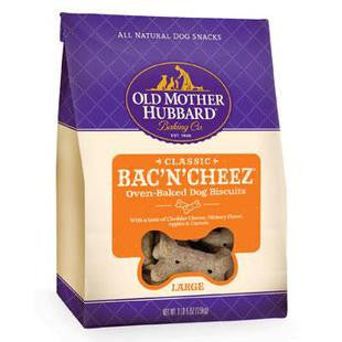 OLD MOTHER HUBBARD LARGE BAC-N-CHEEZ DOG BISCUIT TREATS 3LB 5OZ - BD Luxe Dogs & Supplies