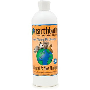 EARTHBATH OATMEAL & ALOE ITCH RELIEF DOG SHAMPOO 16OZ - BD Luxe Dogs & Supplies