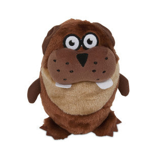 "ASPEN PET LARGE 7"" GRUNTS BEAVER TOY - BD Luxe Dogs & Supplies"