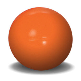 14 INCH ORANGE BEST BALL DURABLE DOG TOY - BD Luxe Dogs & Supplies
