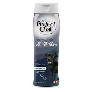 8IN1 PERFECT COAT BLACK PEARL DOG SHAMPOO AND CONDITIONER - BD Luxe Dogs & Supplies