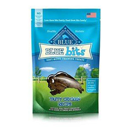 BLUE BUFFALO BLUE BITS CHICKEN TRAINING TREATS 4 OZ