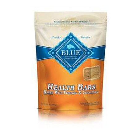 BLUE BUFFALO HEALTH BARS PUMPKIN CINNAMON TREATS