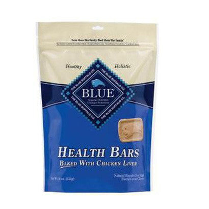 BLUE BUFFALO HEALTH BARS CHICKEN LIVER TREATS - BD Luxe Dogs & Supplies - 1