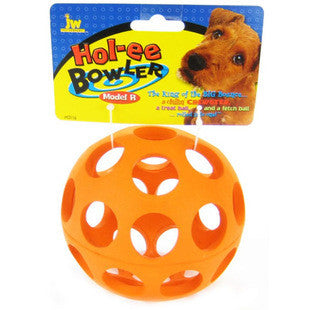 "JW PET MINI 2"" HOL-EE BOWLER RUBBER DOG TOY - BD Luxe Dogs & Supplies"