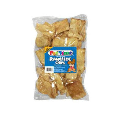 CADET CHICKEN RAWHIDE CHIPS 1 POUND BAG - BD Luxe Dogs & Supplies - 1