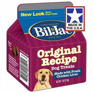 BIL JAC ORIGINAL RECIPE LIVER TREATS 4OZ - BD Luxe Dogs & Supplies