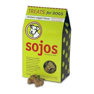 SOJOS GOURMET CHICKEN VEGGIE DOG TREATS - BD Luxe Dogs & Supplies