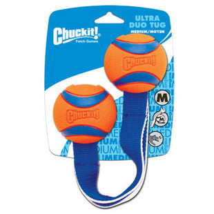 CHUCKIT MEDIUM ULTRA DUO TUG TOY - BD Luxe Dogs & Supplies