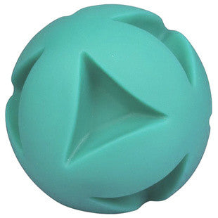 6 INCH TEAL CLUTCH BALL DOG TOY - BD Luxe Dogs & Supplies