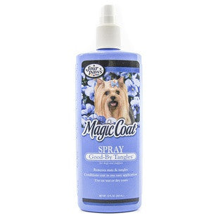 FOUR PAWS MAGIC COAT GOOD BY TANGLE 12OZ SPRAY - BD Luxe Dogs & Supplies
