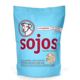 SOJOS COMPLETE TURKEY DOG FOOD MIX 2LB - BD Luxe Dogs & Supplies