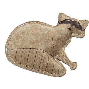 DURA FUSED RACCOON LEATHER DOG TOY - BD Luxe Dogs & Supplies