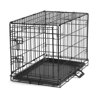 EASY DOG CRATE WITH DOUBLE LATCHING SINGLE DOOR - BD Luxe Dogs & Supplies - 1