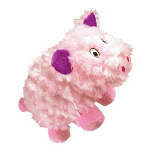 KONG BARNYARD CRUNCHEEZ PIG LARGE DOG TOY - BD Luxe Dogs & Supplies