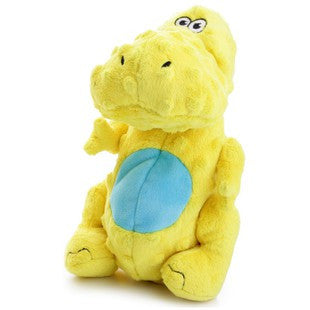 GO DOG LARGE YELLOW T-REX DINO WITH CHEWGUARD TECHNOLOGY - BD Luxe Dogs & Supplies