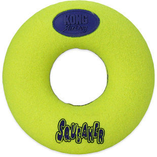 MEDIUM AIR KONG SQUEAKER DONUT TOY