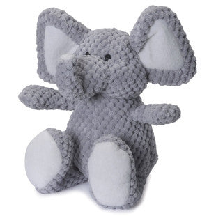 GO DOG LARGE GRAY CHECKERED ELEPHANT WITH CHEWGUARD TECHNOLOGY - BD Luxe Dogs & Supplies
