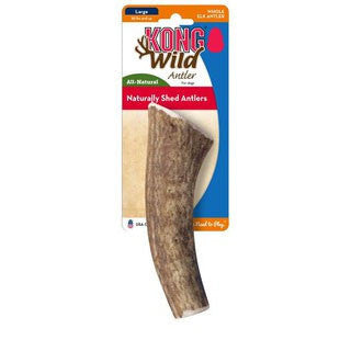 KONG WILD WHOLE ELK ANTLER MEDIUM - BD Luxe Dogs & Supplies